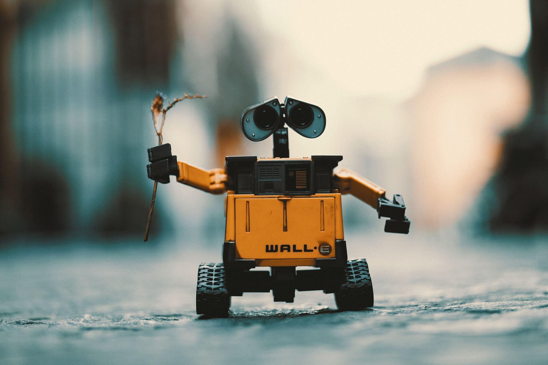 Image of Wall-E character