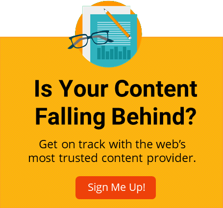 Is Your Content Falling Behind?