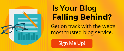 Is Your Blog Falling Behind?